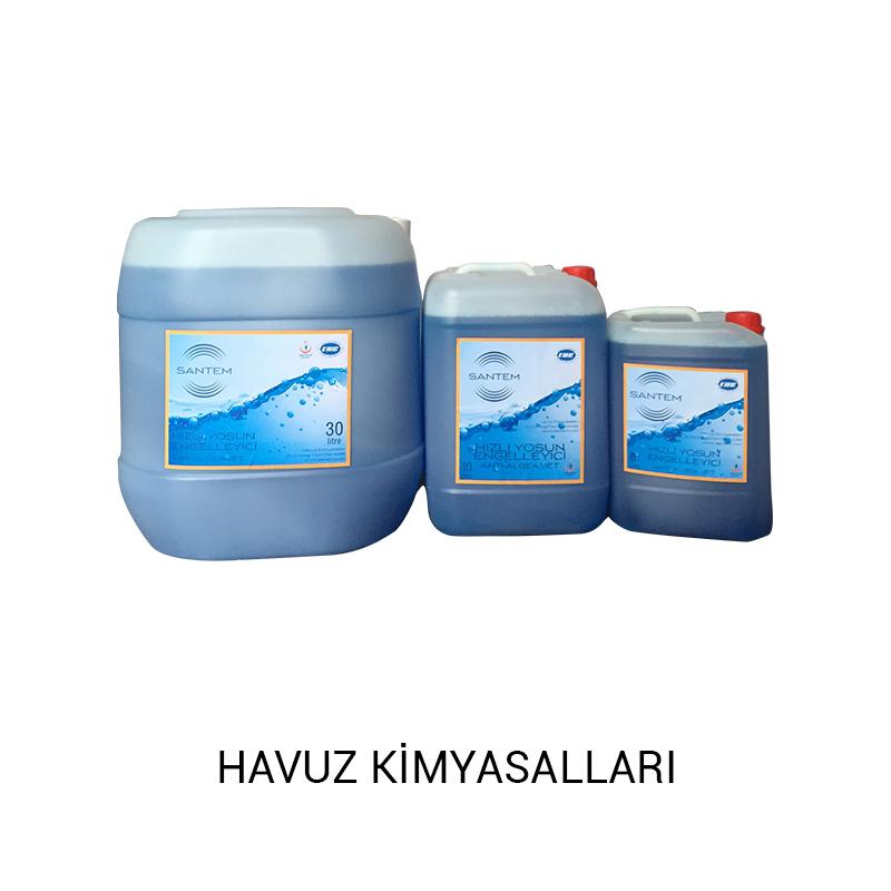 havuz kimyasalları Ürünlerimiz