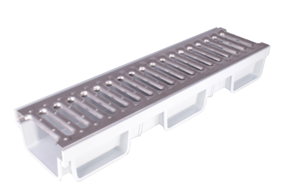 paslanmazkanalizgara COMPLETE STAINLESS STEEL CANAL GRATING