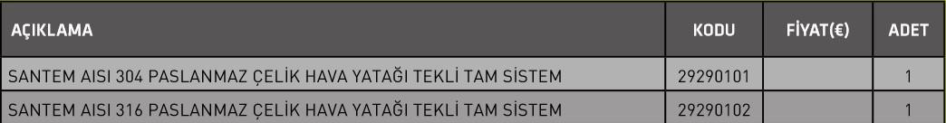 Screenshot 46 HAVA YATAĞI TEKLİ TAM SİSTEM